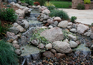 backyard-water-fall-feature