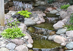 Adams, MN Pond Fountains