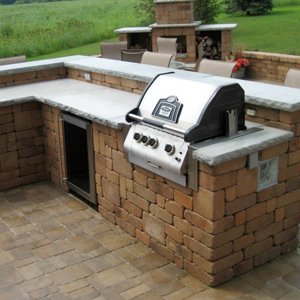 Outdoor Kitchen Landscaping And Landscape Design For