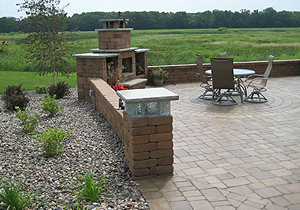 Adams, MN Patio Landscaping