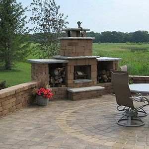 Clark Grove, MN Outdoor Fire Pit