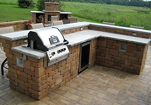 wi berlin new grills finished built firepits fireplaces grill outdoor stone in patio kleinschmidt