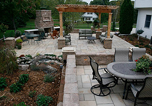 Outdoor patio designs hayfield mn landscaping and for Patio layouts and designs