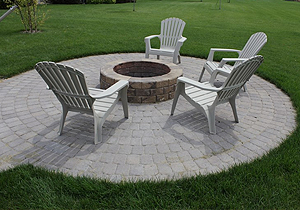 Hayward, MN Patio Landscaping
