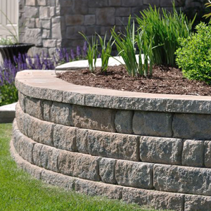 Blooming Prairie, MN Retaining Wall Design