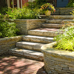 Landscape Block Step Designs