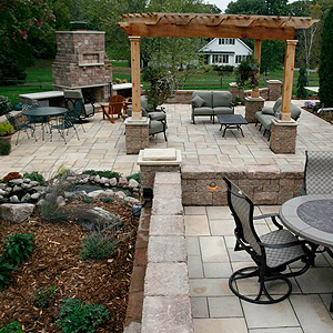 Glenville, MN Patio Landscaping
